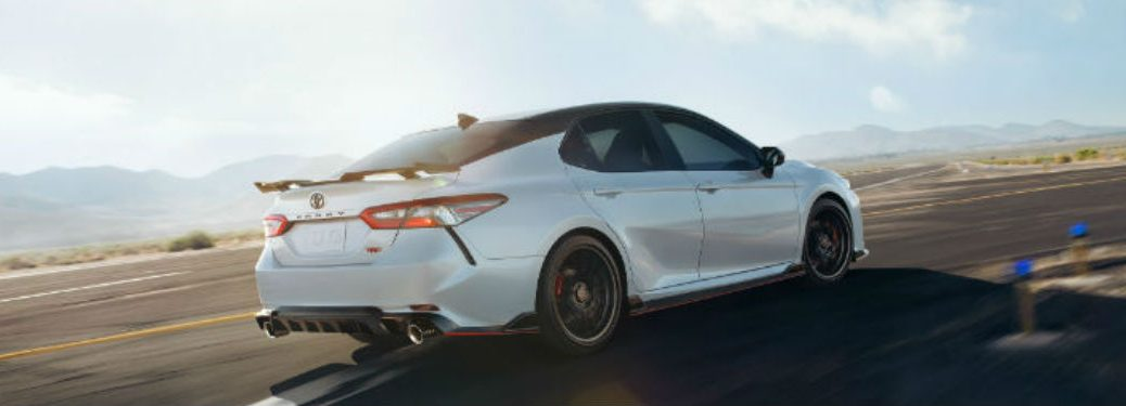 2020 Toyota Camry in white