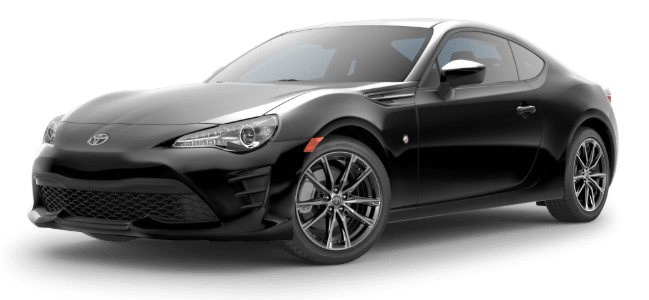 2020 Toyota 86 in Raven