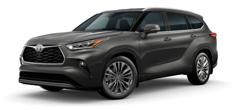 2020 Toyota Highlander in Magnetic Gray Metallic