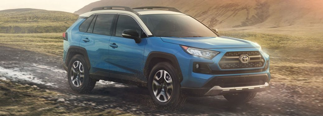2020 Toyota RAV4 in blue