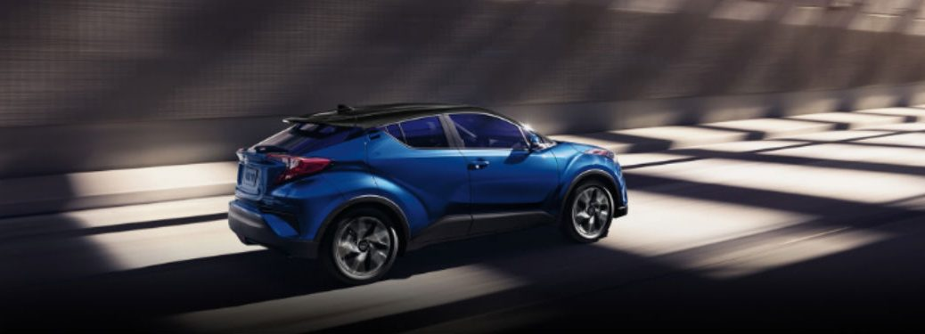 2020 Toyota C-HR in blue