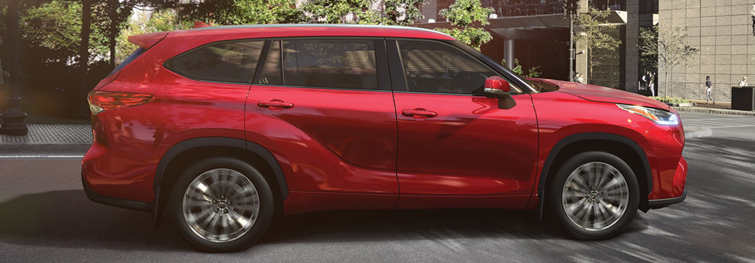 How much space is inside the Toyota Highlander?