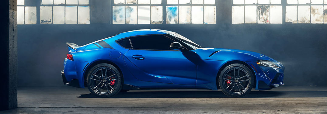 What does the 2021 Toyota GR Supra look like?