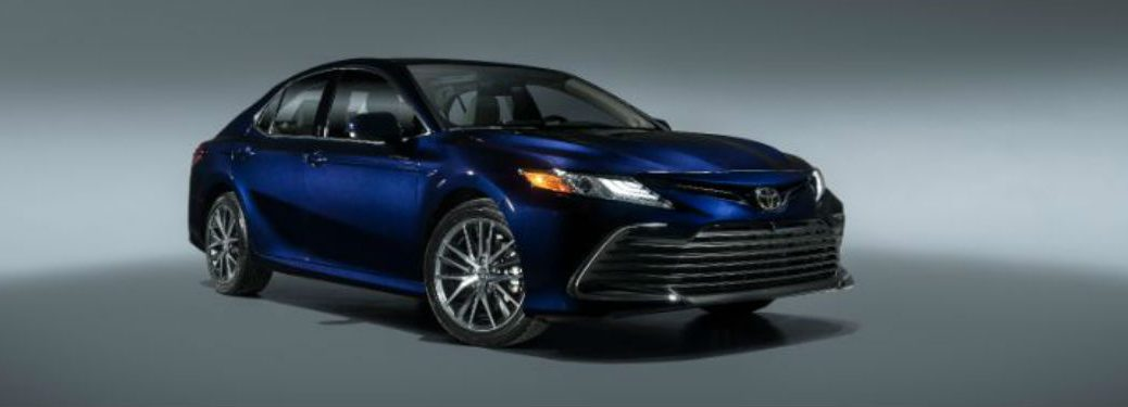 2021 Toyota Camry in purple