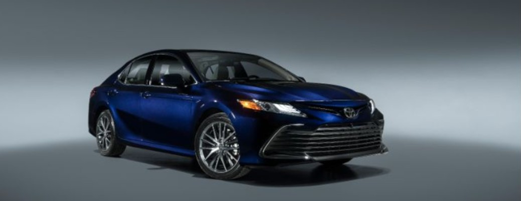 2021 Toyota Camry color blue