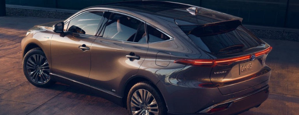 What safety features can be found inside the 2021 Toyota Venza?