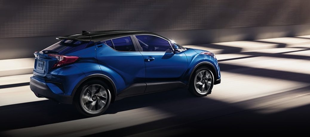 2021 Toyota C-HR on the road