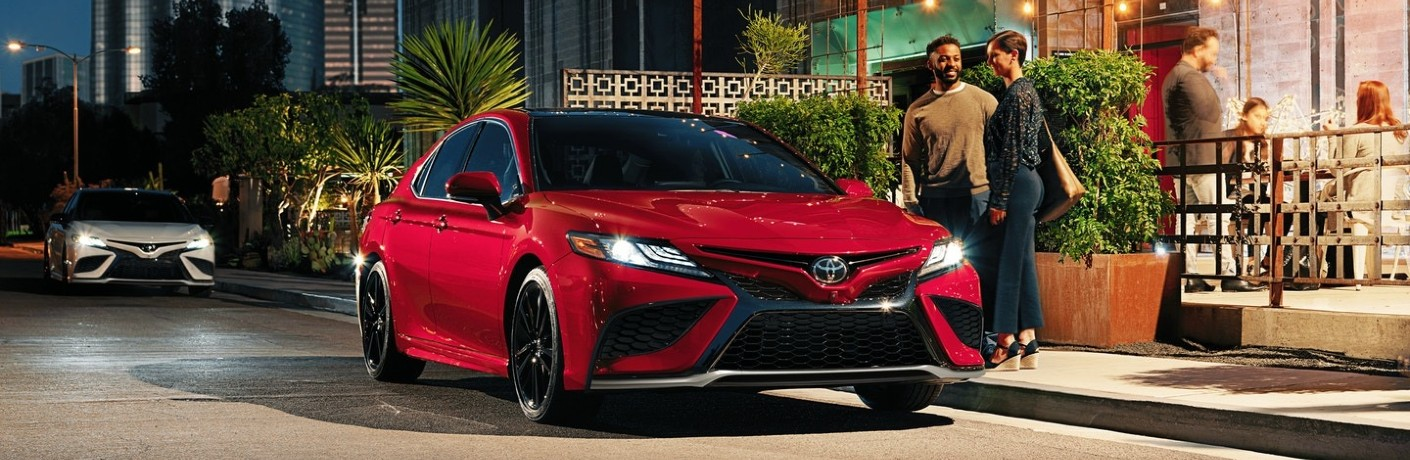 How many trims does the 2021 Toyota Camry come in?