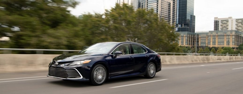 How Does the 2021 Toyota Camry AWD System work?