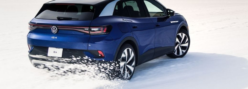 rear view of the 2021 VW ID.4