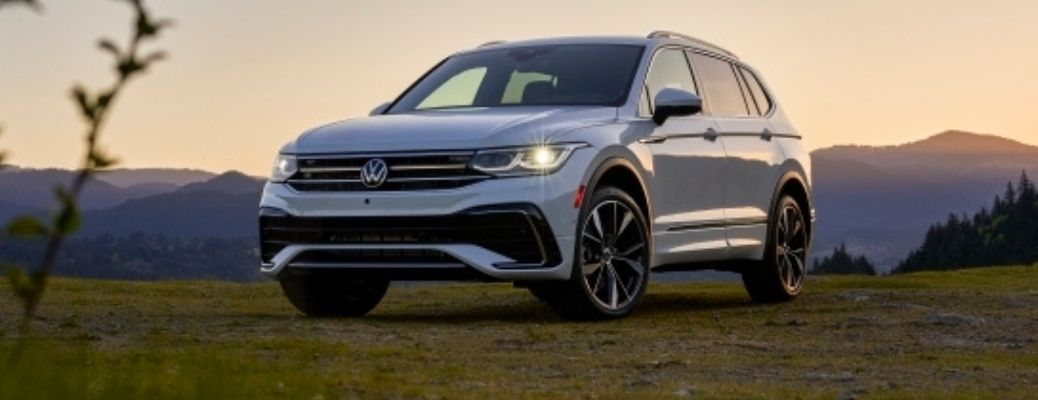 front view of the 2022 VW Tiguan