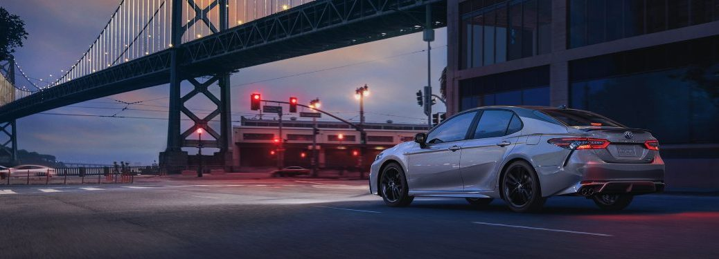 2021 Toyota Camry parked on a city street