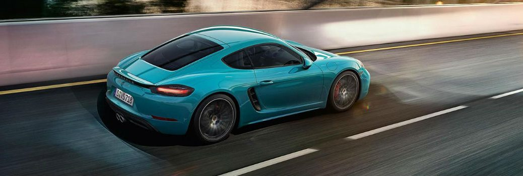 2019 718 Cayman GTS on the road