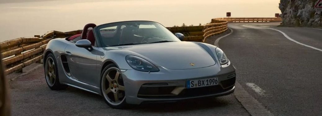Porsche Boxster 25 Years Front and Side View