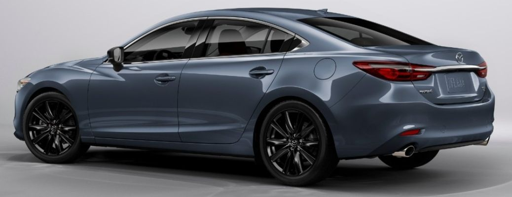 2021 Mazda6 parked side view rear