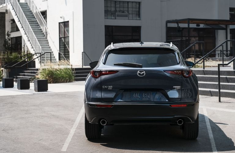 2021 Mazda CX-30 parked outside building