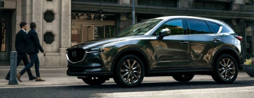 2021 Mazda CX-5 parked outside building