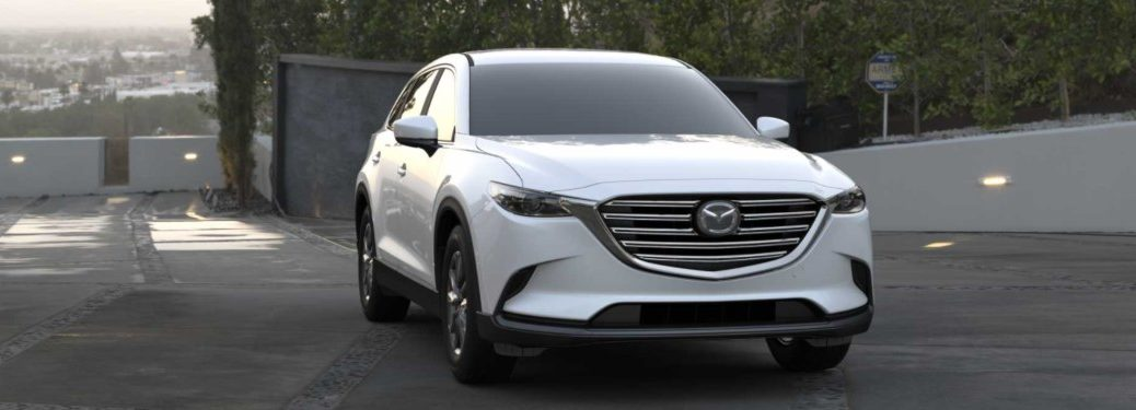 2021 Mazda CX-9 parked in a parking lot
