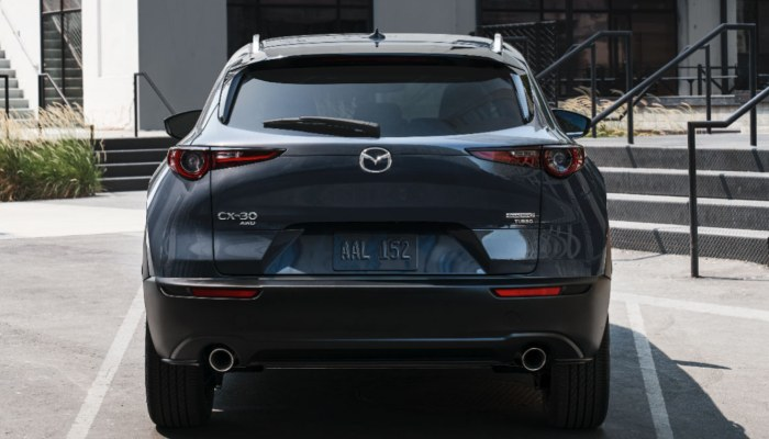 2021 Mazda CX-30 parked in a lot