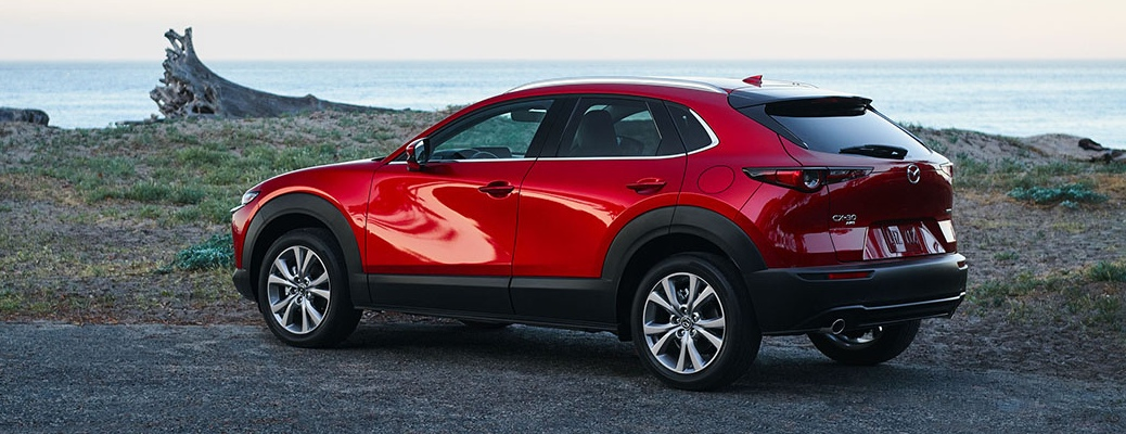 What Colors are Available on the Exterior of the 2021 Mazda CX-30?
