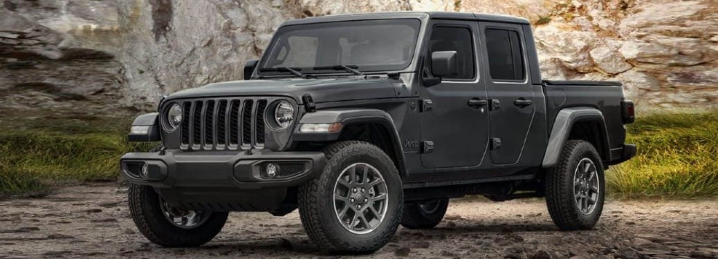 2021 Jeep Gladiator front and side profile