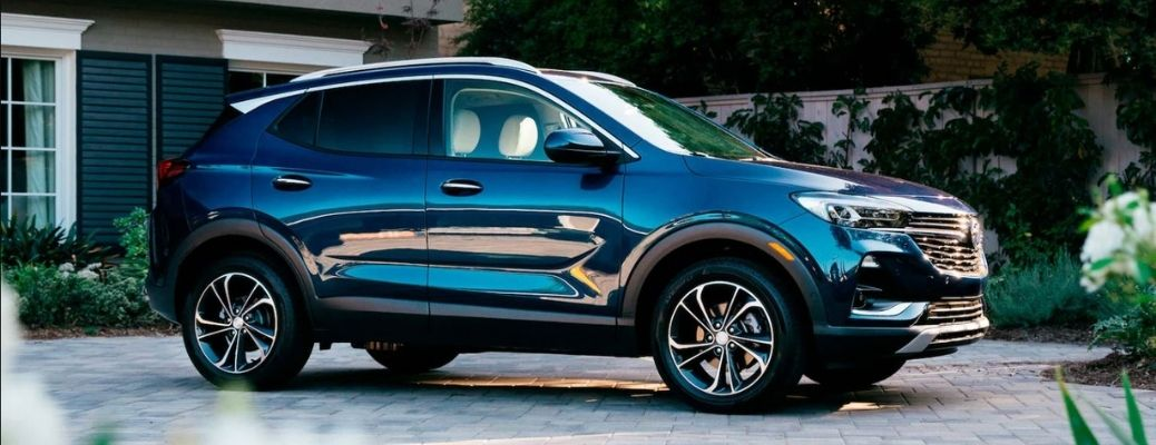 2021 Buick Encore GX on the road