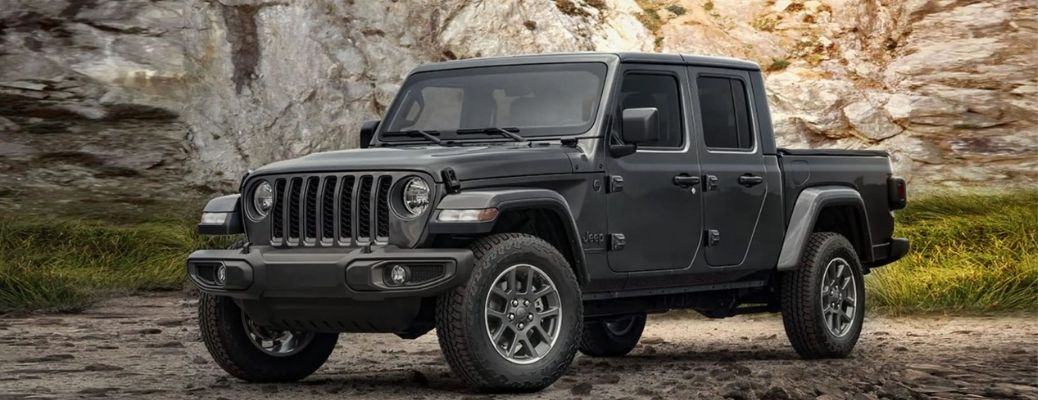 2021 Jeep Gladiator on the road