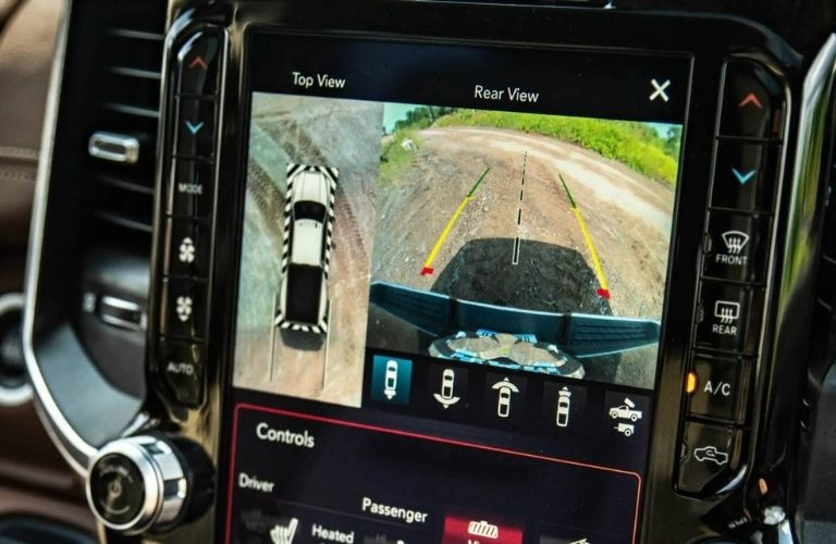 2021 Ram 3500 Smart Towing Feature