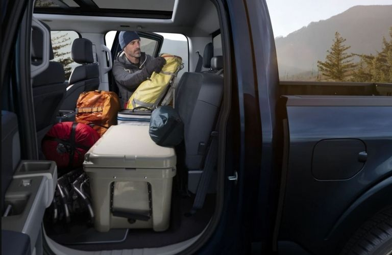 2021 Ford F-150 Cargo Space