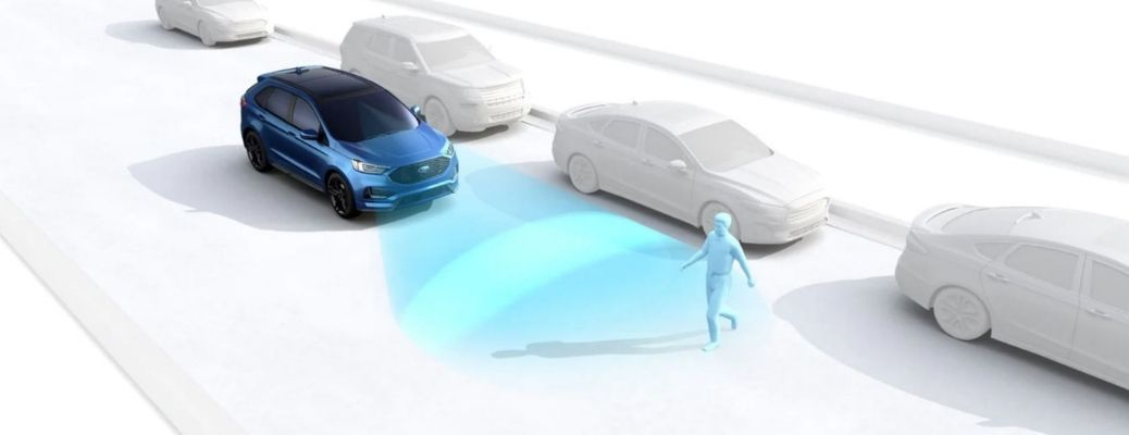 Ford Pre-Collision Assist with Pedestrian Detection