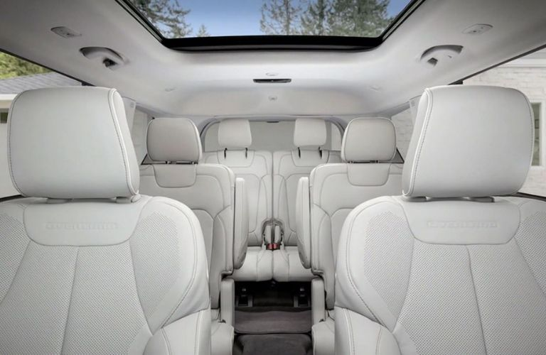 2021 Jeep Grand Cherokee L Seating