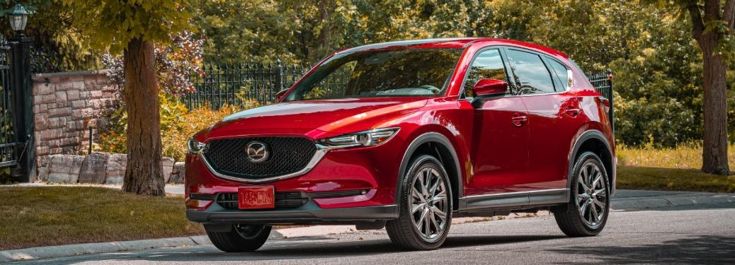 2020 Mazda CX-5 Exterior Front Parked on Street