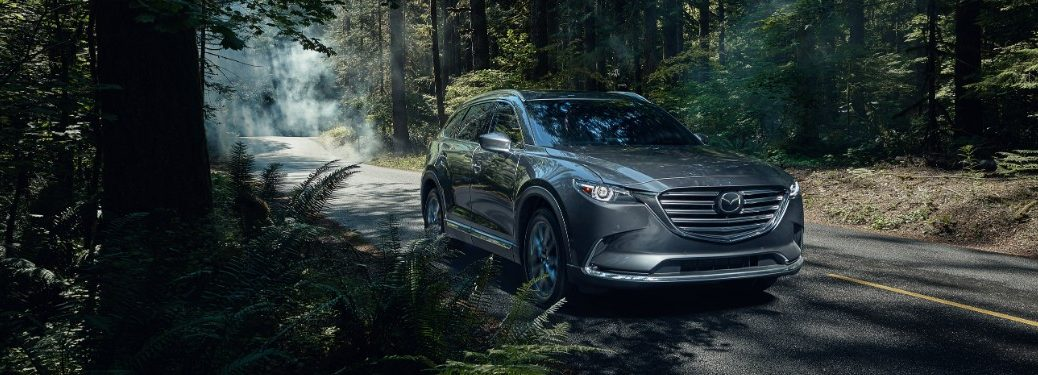2020 Mazda CX-9 by trees