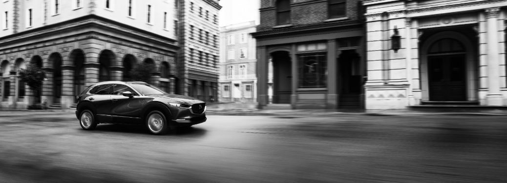 2020 Mazda CX-30 Driving on Road