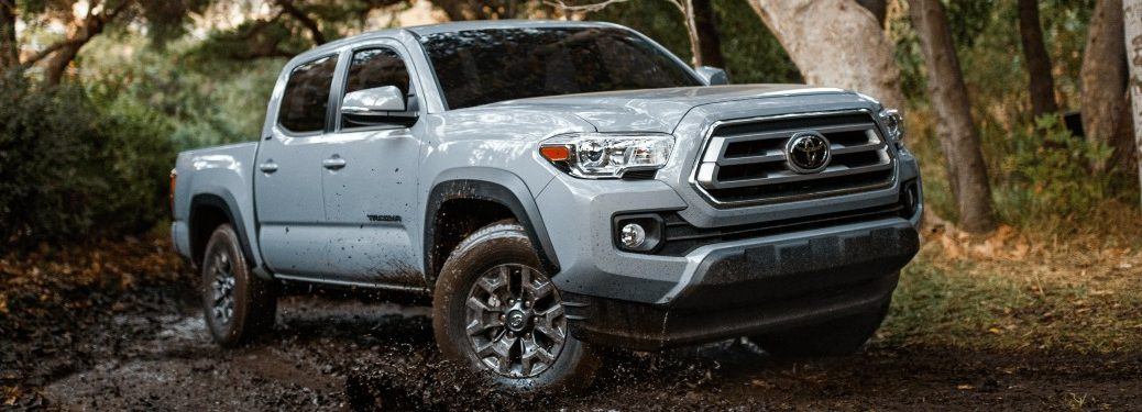 2021 Tacoma in the mud