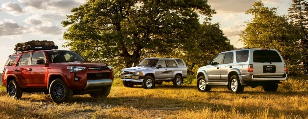 2022 Toyota 4Runner in a grassland. What is the engine specification?