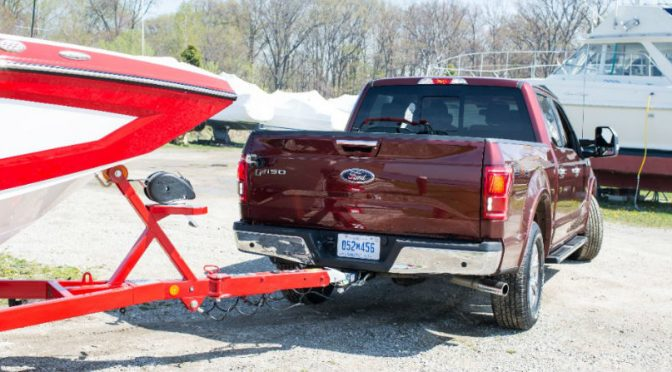 2016 Ford F-150 Trailer Assist