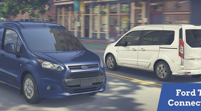 What's the difference between the Ford Transit Connect Van and Wagon?