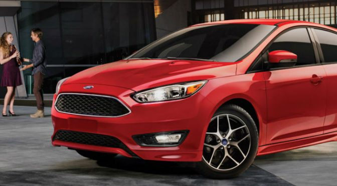 Ford Focus in Red