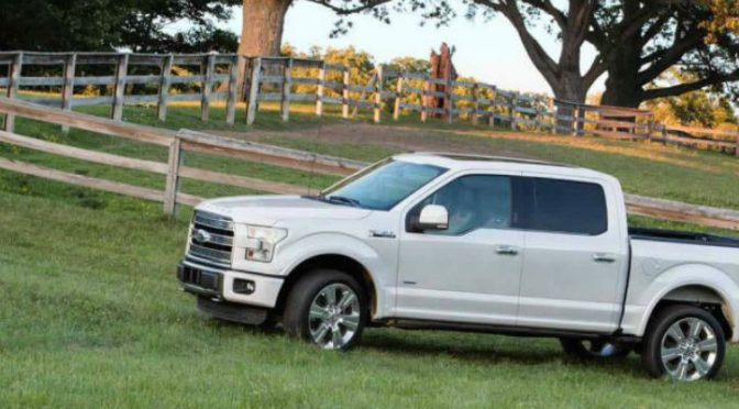 2017 F 150 SuperCab in White