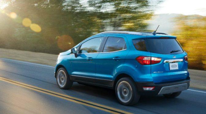 2018 Ford EcoSport Release Date and Specs