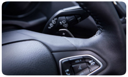 2017 Ford Escape paddle shifters