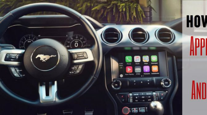 Ford Apple CarPlay Android Auto