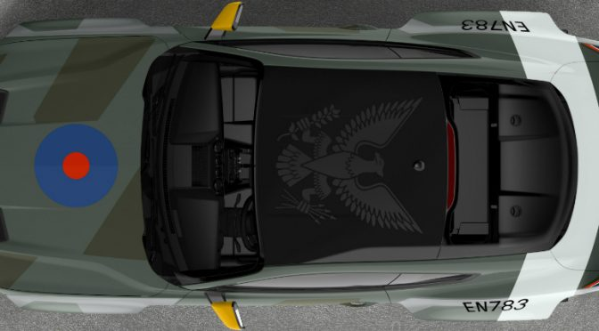 Overhead View of 2018 Eagle Squadron Ford Mustang GT