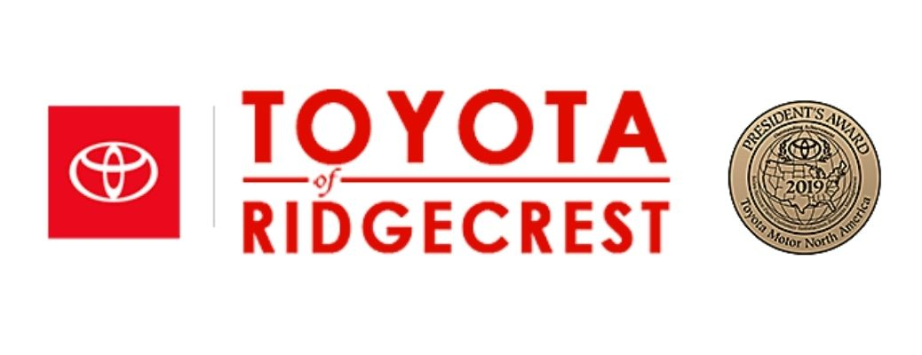 The official logo of Toyota of Ridgecrest