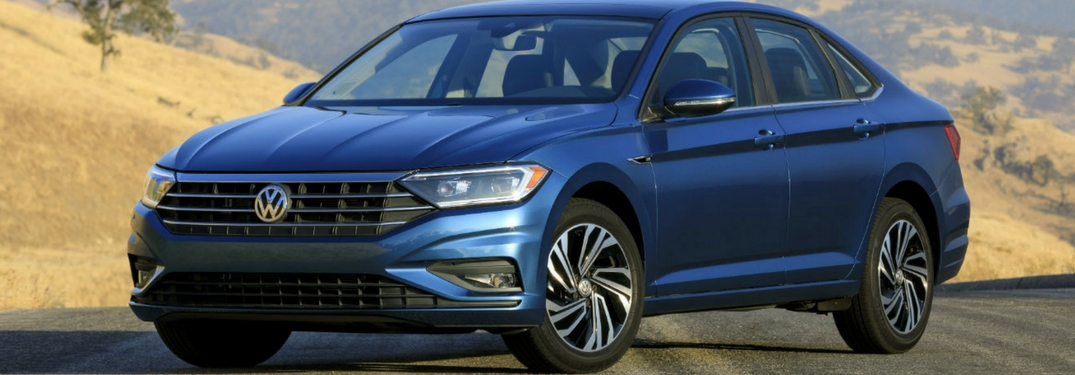 2019 volkswagen full view while driving
