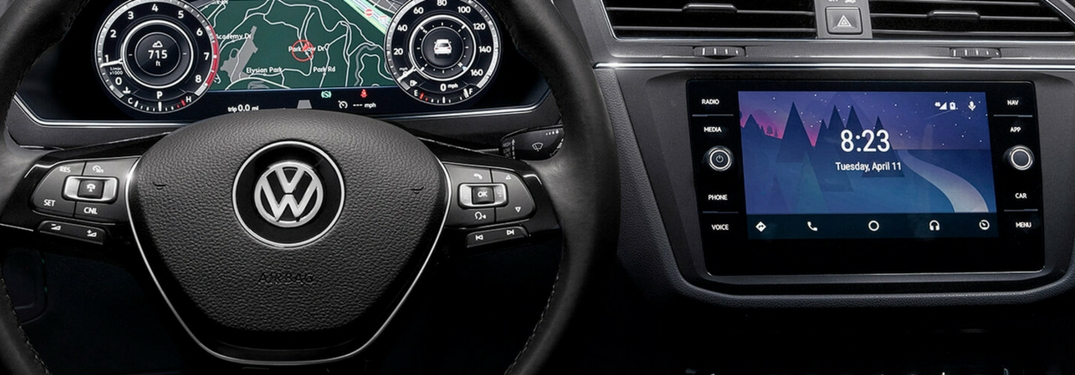 volkswagen interior safety and convenience technology
