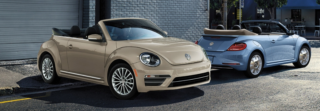 2019 volkswagen beetle front and rear