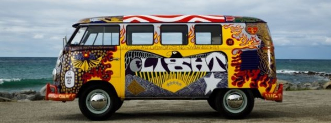side view of vw light bus