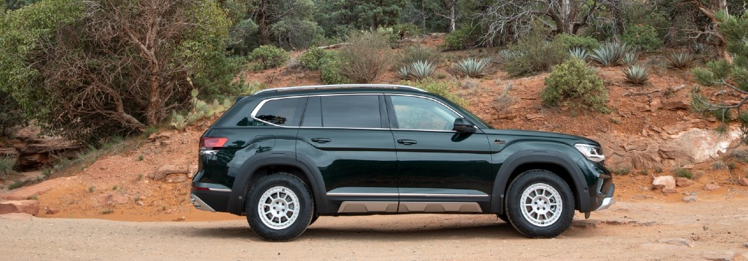 2021 Volkswagen Atlas with basecamp accessory line